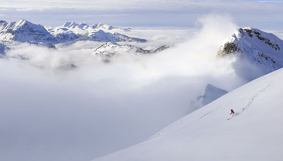 Flaine - winter
