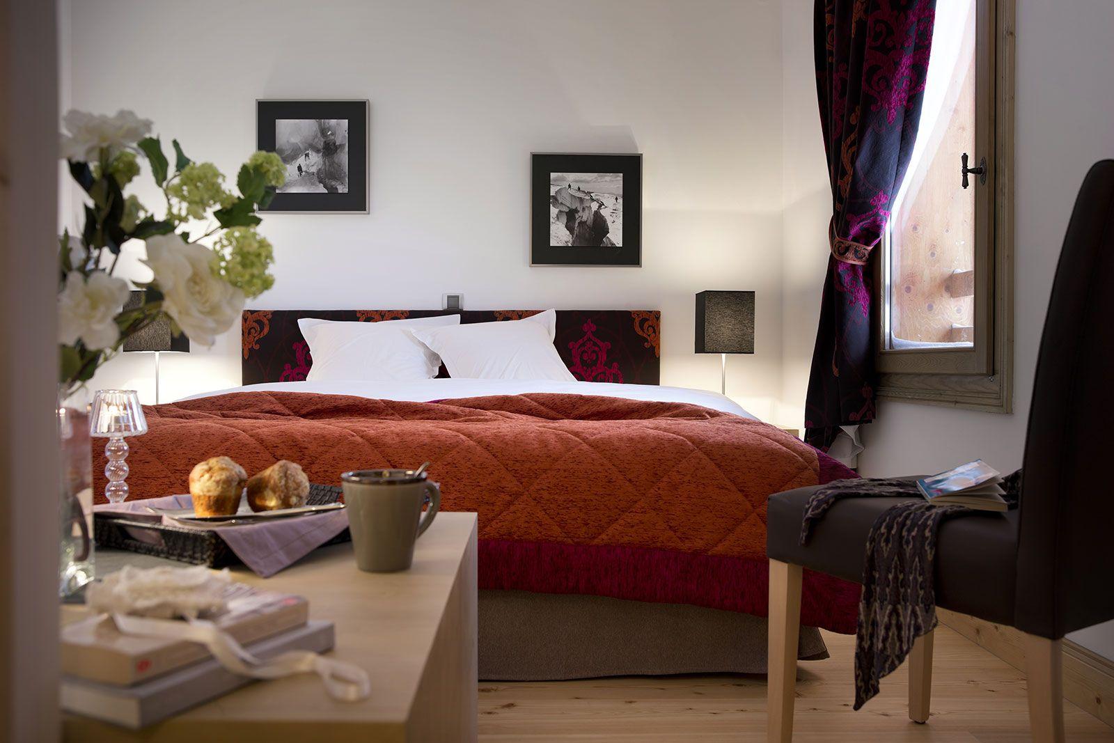 Bedroom atmosphere - Chalets Séléna - Les Gets