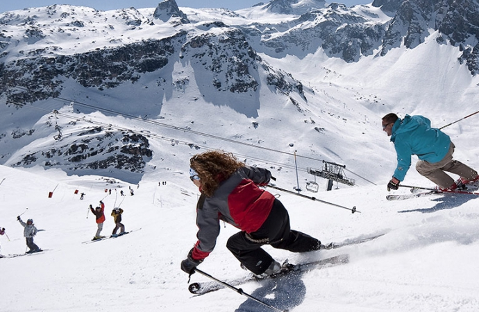 Espace Killy ski area - small image