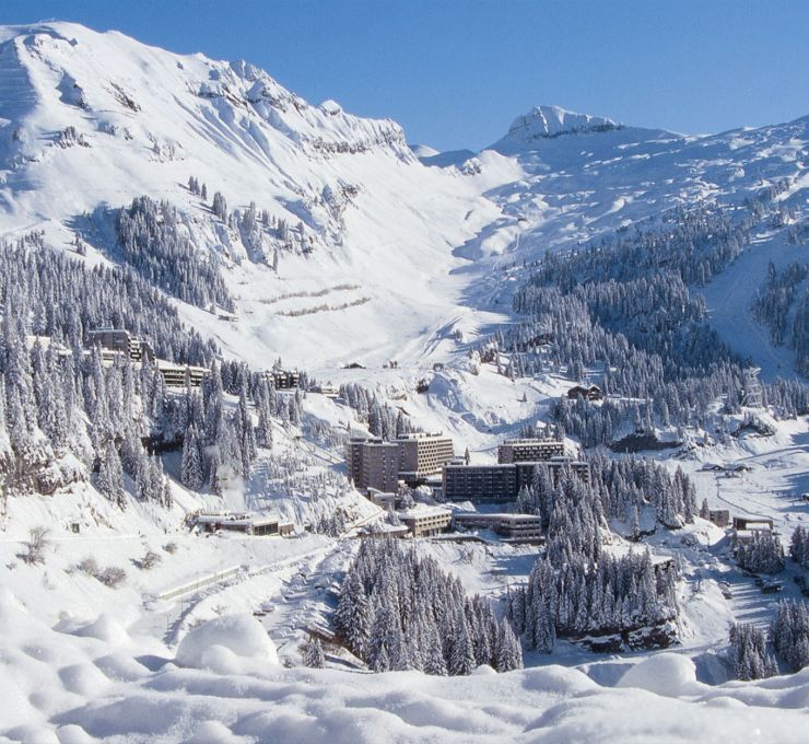 Flaine, l'impertinence architecturale