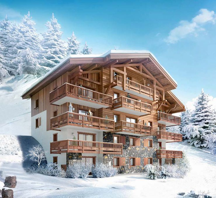 Ski in ski out chalet for sale in Les Saisies - small image