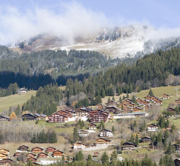 Châtel, authentic mountain charm