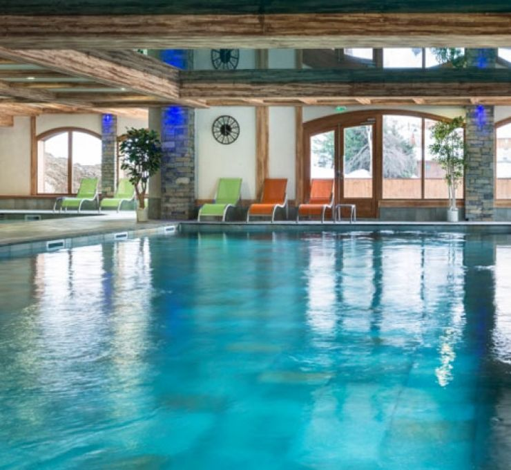 The swimming pool of the residence - Résidence Anitéa in Valmorel