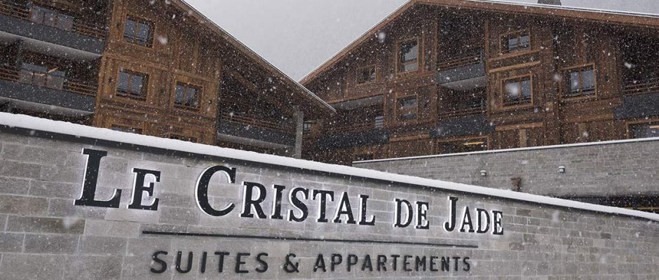 The exterior view of the residence - Le Cristal de Jade in Chamonix