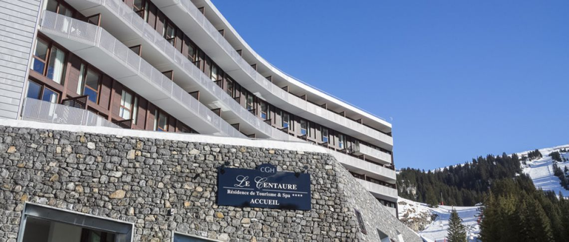 The exterior view of the residence - Le Centaure in Flaine