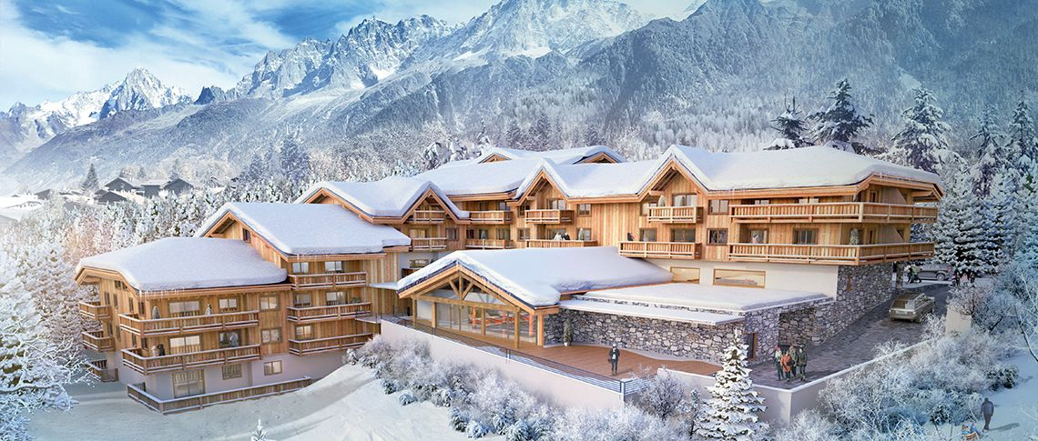 Les Houches apartments for sale Les Chalets lna MGM French