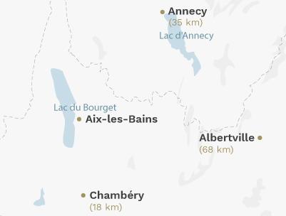 Map - Aix-les-Bains